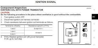 Ignition Coil Pack Resistance My350z Com Nissan 350z