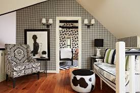 hotchner contemporary black family room traditional with bedroom faux stone wallpaper borders