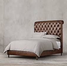 Leather Beds | RH