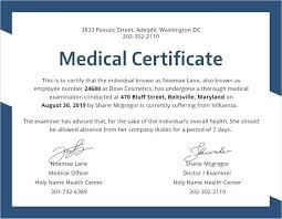New Medical Certificate School Diploma Template Brochure For