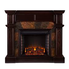 real flame cau corner electric fireplace fire