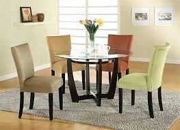 small round glass dining table round glass dining table set full size of dining dining room