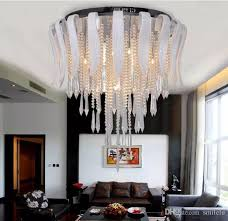 fashion elegant white glass k9 crystal chandelier creative art stainless steel crystal pendant light dining room office light fitting led crystal lamp