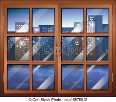 closed window clipart. a closed window - csp18575512 clipart o