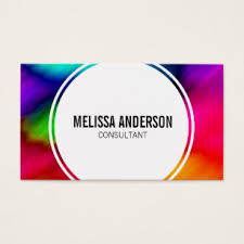 tie dye business cards rainbow dye business cards templates zazzle