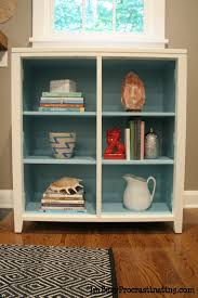 Turquoise Accessories For Living Room Stuck On Hue A Dark Cabinet Goes Light And Fresh In Turquoise And