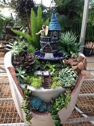 Small Picture The 25 best Fairy garden pots ideas on Pinterest Fairy pots