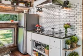 tiny house kitchens. comfort and luxury in a tiny house format kitchens