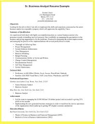Business Analyst Resume Sample Doc