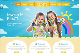 Kids School Website Template Kiddy Children Html Responsive Website Template Free Download