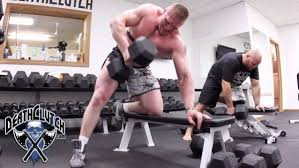 muscle world brock lesnar workout and t secret