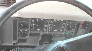 International 4700 T444e Dash Start - YouTube