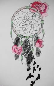 Dream Catchers Sketches Dreamcatcher Tumblr Sketch Dream Catcher Drawing Pencil Easy A 45