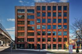 high tech modern architecture buildings.  Modern The Mass Timber T3 Tower In Minneapolis Is Clad With Weathering Steel In High Tech Modern Architecture Buildings