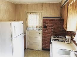 retro retrokitchen oldschool interiordesign brick kitchen design exposedbrick