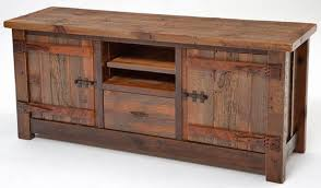 Barnwood Entertainment Center Rustic Entertainment Center M0