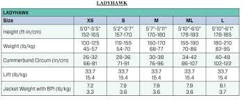 Scubapro Womens Ladyhawk Back Inflation Bcd Bpi