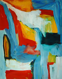 4 096 dutch artist 1998 large abstract oil painting no 4 096 dutch artist