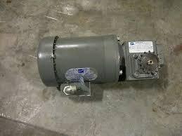 doerr motor lr22132 1 2hp 3ph fr f56c gear reducer k353