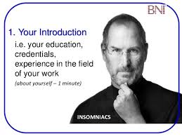 5 10 Minutes Presentation Bni Insomniacs