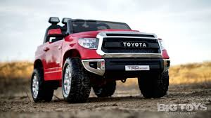 power wheel Toyota ride on battery powered truck Big Toys Green Country