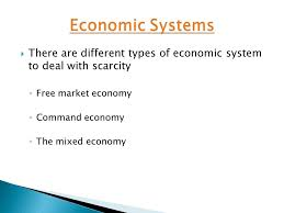 hnc hnd unit international group  you are required to produce  10  there are different types of economic system to deal scarcity ◦ market economy ◦ command economy ◦ the mixed economy
