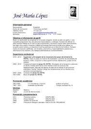... Modelos De Resume 10 Ejemplo B Sico Cv 2012 ...