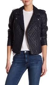 image of levi s faux leather moto jacket