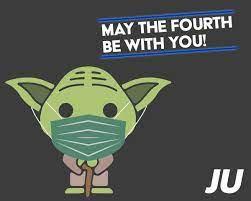 heutigen Star Wars Tag zeigt uns Yoda ...