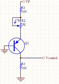 inverse voltage control the pnp transistor is turned on to saturation so the voltage through the collector is