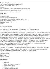 Pharmaceutical Representative Cover Letter Sample Medical