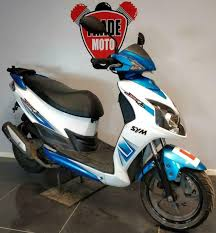 2016 12 sym ad12w jet 4 125 learner legal scooter trade cat d easy fix 5k