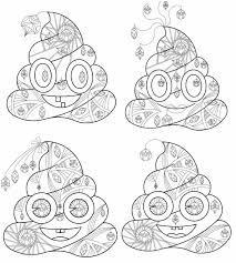 Coloring pages of an emoji are available on the internet. Poop Emoji Coloring Page No Watermark Page 1 Line 17qq Com