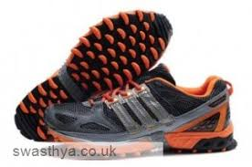 adidas running shoes men. adidas kanadia 4 tr running shoes dimgray orange men