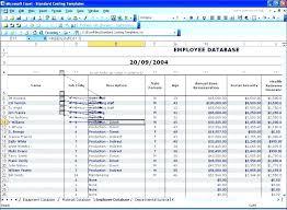 Employee Database Excel Template Employee Database Excel Template Attendance Spreadsheet Tracker