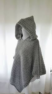 Crochet Poncho Pattern With Hood
