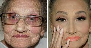 80 year old grandma asks her granddaughter for a makeup bees internet sensation bored panda