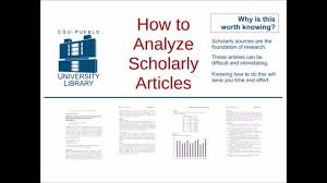 Article Review Writing Sample ResearchGate