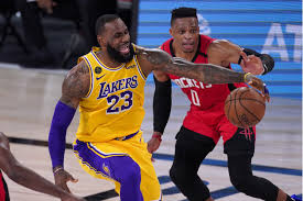 Lakers hold off late surge by Rockets to win and take commanding series  lead - Los Angeles Times