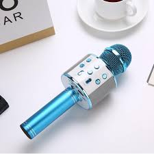WS-<b>858 Cell Phone</b> Singing <b>Microphone</b> K Song <b>Microphone</b> Stereo ...