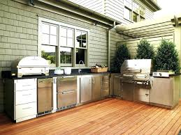 outdoor kitchen cabinets stainless steel on wheels diy melbourne