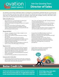 Ovation Credit Services Inc Linkedin