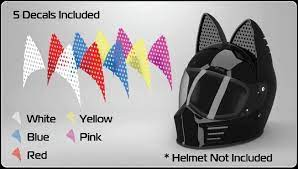 This cat ear accessory from helmet upgrades is the perfect addition to any boring helmet. Cat Ear Helmet Upgrade Hands On Review