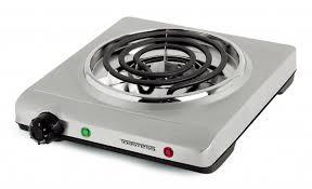furniture countertop burner lovely salton portable 10 electric cooktop with 1 burner reviews wayfair