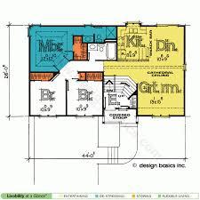 ... Split Entry House Plans Design Basics Attached Garage Home Pl: Large  Size ...