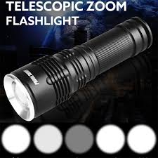 1101 Police Light Flashlight Us 6 94 36 Off Probe Shiny Tactical Police 5000lm Zoom Xm L T6 Led 5modes Flashlight 18650 Aluminum Torch Dropshipping 1101 In Led Flashlights From