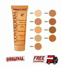 Details About Coverderm Perfect Legs 9 Shades To Choose Waterproof Make Up 50ml