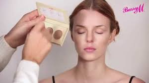 how to contour using barry m s chisel cheeks kit