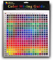 Basic Colour Mixing Chart Magic Palette Colour Mixing Guide 11 5 Inch