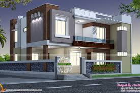 modern style indian home kerala home design and floor plans india